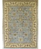 RugStudio presents Benjamin Rug Imports Impressions 4510 Light Blue-Ivory Hand-Tufted, Best Quality Area Rug
