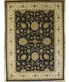 RugStudio presents Rugstudio Famous Maker 39375 Black-Ivory Hand-Tufted, Best Quality Area Rug
