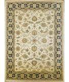 RugStudio presents Rugstudio Famous Maker 39369 Ivory-Black Hand-Tufted, Good Quality Area Rug