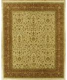 RugStudio presents Benjamin Rug Imports Showcase 1009 Ivory / Rust Hand-Knotted, Best Quality Area Rug