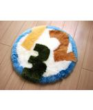 RugStudio presents Bowron Fun Rugs 123 Hand-Tufted, Good Quality Area Rug