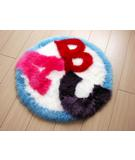 RugStudio presents Bowron Fun Rugs ABC Hand-Tufted, Good Quality Area Rug