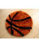 RugStudio presents Bowron Fun Rugs Basketball Hand-Tufted, Good Quality Area Rug