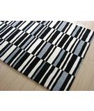 RugStudio presents Bowron Chaos Havoc Cheque Hand-Tufted, Best Quality Area Rug