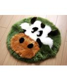 RugStudio presents Bowron Fun Rugs Moo Cow Hand-Tufted, Good Quality Area Rug