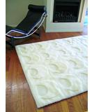 RugStudio presents Bowron Constellation Solar Ivory Hand-Tufted, Best Quality Area Rug