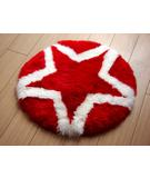 RugStudio presents Bowron Fun Rugs Star Hand-Tufted, Good Quality Area Rug