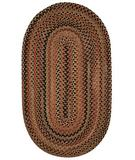 RugStudio presents Capel Manchester 43837 Brown Hues Braided Area Rug