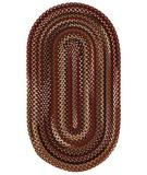 RugStudio presents Capel Bangor 43570 Cinnamon Braided Area Rug