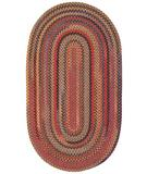 RugStudio presents Capel High Rock 43792 Red Braided Area Rug