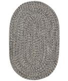 RugStudio presents Capel Sea Pottery 43989 Smoke Braided Area Rug