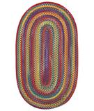 RugStudio presents Capel Kill Devil Hill 49537 Bright Multi Braided Area Rug