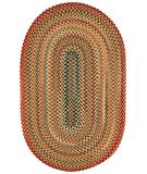 RugStudio presents Capel Portland 43942 Gold Braided Area Rug