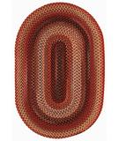 RugStudio presents Capel Portland 43945 Red Braided Area Rug