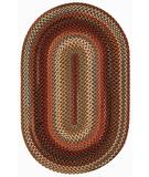 RugStudio presents Capel Portland 43946 Brown Braided Area Rug