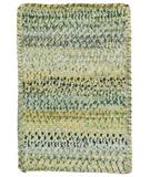 RugStudio presents Capel Ocracoke 43908 Pale Green Braided Area Rug