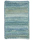 RugStudio presents Capel Ocracoke 43909 Light Blue Braided Area Rug
