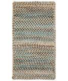 RugStudio presents Capel Ocracoke 43910 Deep Blue Braided Area Rug