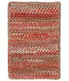 RugStudio presents Capel Ocracoke 43911 Pink Braided Area Rug