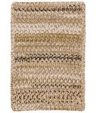 RugStudio presents Capel Ocracoke 43912 Tan Braided Area Rug