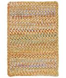 RugStudio presents Capel Ocracoke 43913 Amber Braided Area Rug
