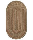 RugStudio presents Capel New Bern 43906 Tan Braided Area Rug