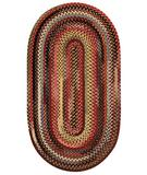 RugStudio presents Capel Eaton 43682 Multicolor Braided Area Rug