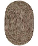 RugStudio presents Capel Mill Creek 43858 Olive Braided Area Rug