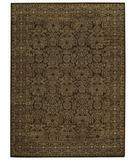 RugStudio presents Capel Tonal Trace 44066 Brown Chestnut Hand-Knotted, Good Quality Area Rug