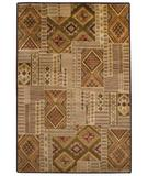 RugStudio presents Capel Crystalle 47473 Spice Hand-Knotted, Good Quality Area Rug