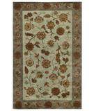 RugStudio presents Capel Dexter 43673 Sea Green Hand-Knotted, Good Quality Area Rug