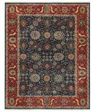RugStudio presents Capel Constantinople-Bidjar 43649 Blue Hand-Knotted, Best Quality Area Rug