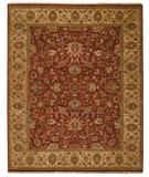 RugStudio presents Capel Boca Park-Tabriz 43616 Potters Clay Hand-Knotted, Best Quality Area Rug