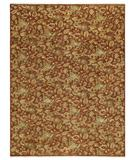 RugStudio presents Capel Boca Park-Wildflowers 43619 Red Henna Hand-Knotted, Best Quality Area Rug