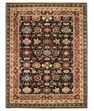 RugStudio presents Capel Gloria-Flora Bid 43763 Pewter/Rust Hand-Knotted, Best Quality Area Rug
