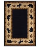 RugStudio presents Capel Cottage Grove 43650 Ebony Machine Woven, Better Quality Area Rug