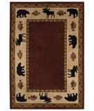 RugStudio presents Capel Cottage Grove 43651 Wine Machine Woven, Better Quality Area Rug