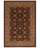 RugStudio presents Capel Martinez-Ziegler 43853 Cocoa Cream Machine Woven, Best Quality Area Rug