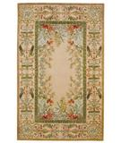 RugStudio presents Capel Lafayette 2510 Parchment 600 Hand-Tufted, Best Quality Area Rug
