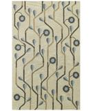RugStudio presents Capel Blue Bell Twining 43602 Blue Hand-Tufted, Good Quality Area Rug