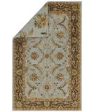 RugStudio presents Capel Reversibles 43966 Sky Blue Hand-Tufted, Best Quality Area Rug