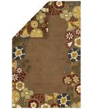 RugStudio presents Capel Reversibles 43971 Mocha Hand-Tufted, Best Quality Area Rug
