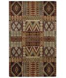 RugStudio presents Capel Big Horn 43579 Brown Multi Hand-Tufted, Good Quality Area Rug