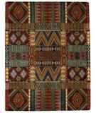 RugStudio presents Capel Big Horn 43580 Multitone Hand-Tufted, Good Quality Area Rug