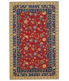 RugStudio presents Capel Lorraine 43831 Red Poppy Hand-Hooked Area Rug