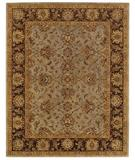 RugStudio presents Capel Monticello-Meshed 43883 Honeydew/Chocolate Hand-Tufted, Best Quality Area Rug