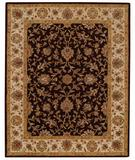 RugStudio presents Capel Monticello-Keshan 43879 Cocoa/Wheat Hand-Tufted, Best Quality Area Rug