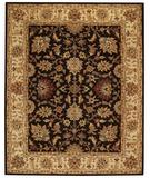 RugStudio presents Capel Monticello-Mahal 43882 Coffee Hand-Tufted, Best Quality Area Rug