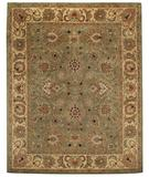RugStudio presents Capel Monticello-Agra 43876 Green Pistachio Hand-Tufted, Best Quality Area Rug