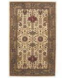 RugStudio presents Capel Piedmont-Ushak 43940 Beige Hand-Tufted, Good Quality Area Rug